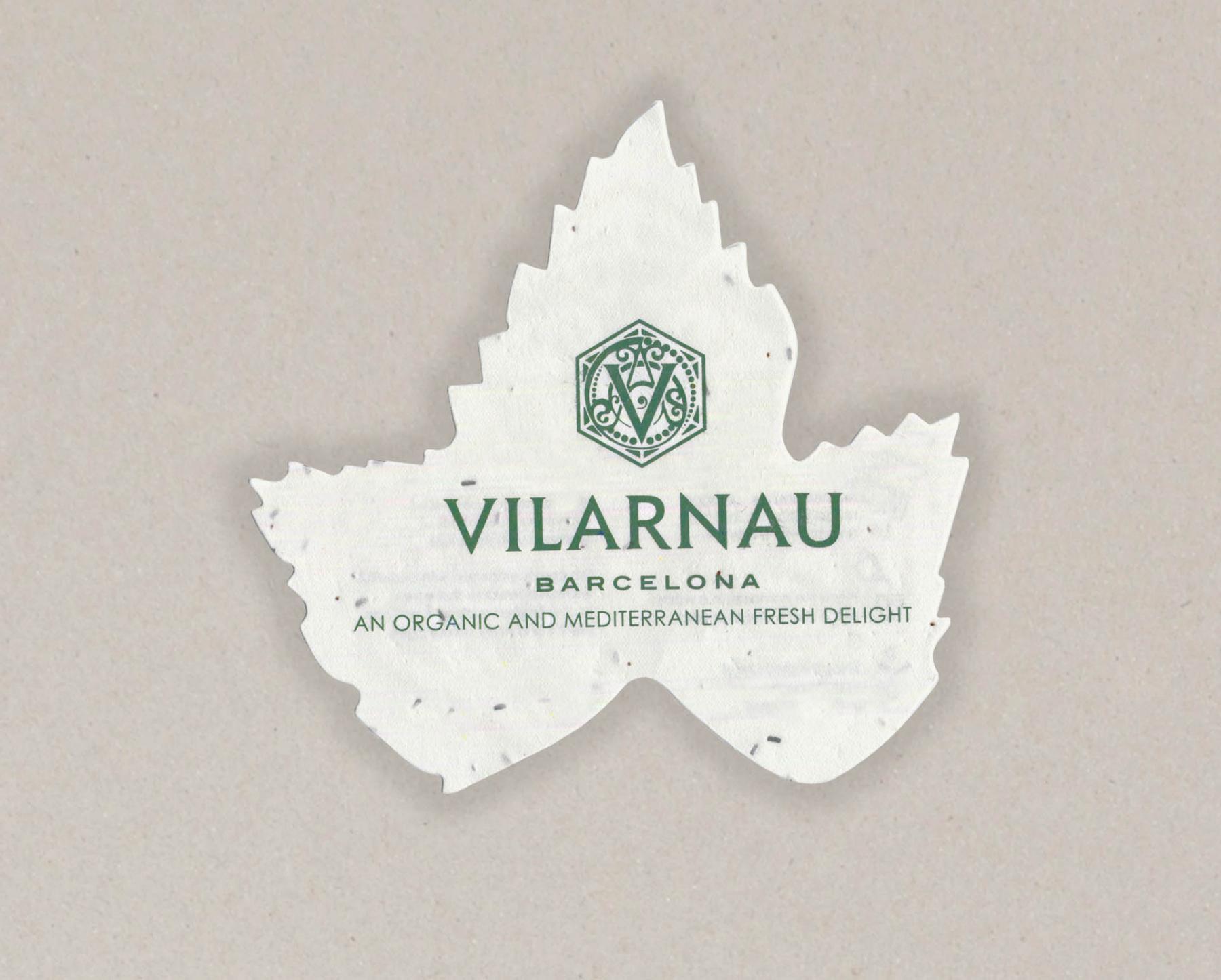 Papel con semillas para Vilarnau - cara A